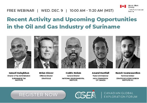 CGEF Presents: Recent Activity and Upcoming Opportunities in Suriname