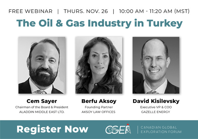 CGEF Presents: The Oil and Gas Industry in Turkey